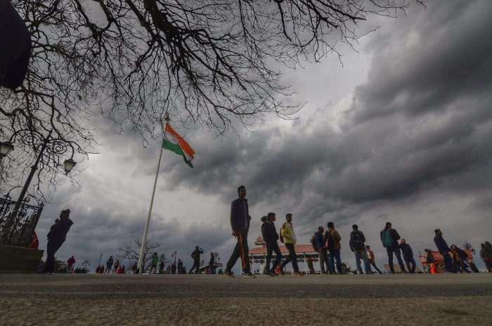Due to rainfall, strong winds and cloudy weather, the maximum temperature would be in the range of 20-22 degrees Celsius. (PTI Photo)