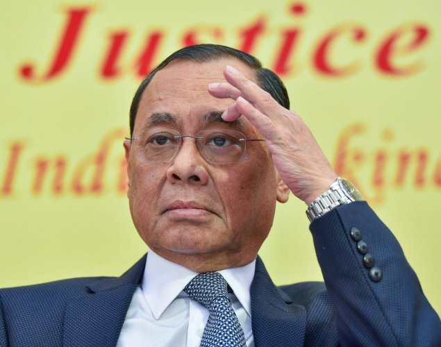 Chief Justice of India (CJI) Ranjan Gogoi on Monday recused himself from hearing a plea challenging the appointment of M Nageswara Rao as the interim CBI director. PTI file photo