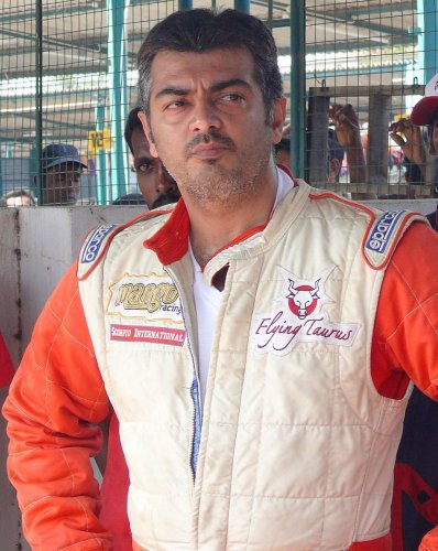 Ajith said he was a self-made man and would never use his popularity as an actor to be in politics.