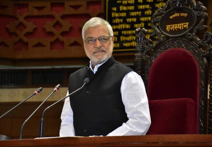 Senior Congress leader and former Union minister C P Joshi. Image courtesy Twitter