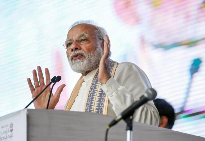 Prime Minister Narendra Modi had mocked the Opposition saying they were crying for help as his government had launched a crusade against corruption. PTI file photo