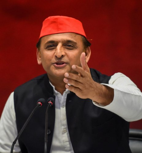 """Samajwadi Party supremo Akhilesh Yadav has said that despite his """"immense respect"""" for Congress President Rahul Gandhi, the grand old party was kept out of the SP-BSP alliance in Uttar Pradesh to correct """"poll arithmetic"""" in order to defeat the BJP. PTI p"""