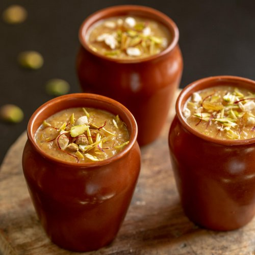 'Gur ki Kheer' is one of the the popular desserts.