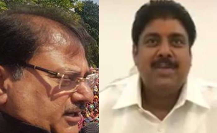 Former Haryana CM OP Chautala's the two estranged sons, ex-MP Ajay and Abhay Chautala, the leader of opposition in the state assembly, have parted ways on an unpleasant note.