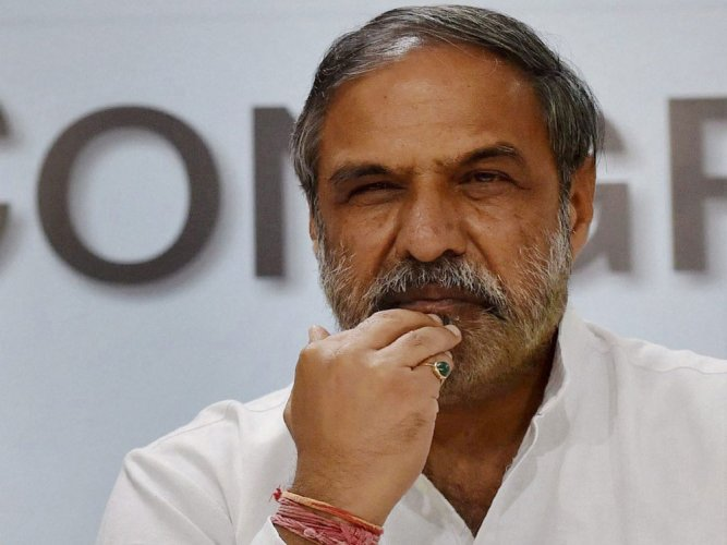 Senior Congress Anand Sharma said the 2019 Lok Sabha election was an unequal battle when it came to resources as the BJP was flush with funds and has emerged as the biggest spender on advertisements beating even top corporates. (PTI File Photo)