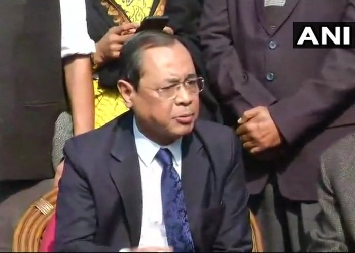 All fresh matters filed in the Supreme Court would be listed for hearing within a period of five days, Chief Justice of India Ranjan Gogoi said on Wednesday. Picture courtesy ANI
