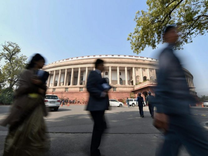 """Sources said that the """"landmark"""" Bill to amend the Sixth Schedule of the Constitution would be introduced during the forthcoming session of Parliament as the ruling BJP was keen to reap its political dividends in the Lok Sabha elections. (PTI File Photo)"""