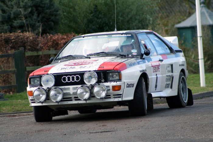 Audi Quattro A2 rally car. Picture credit: commons.wikimedia.org/ Tony Harrison