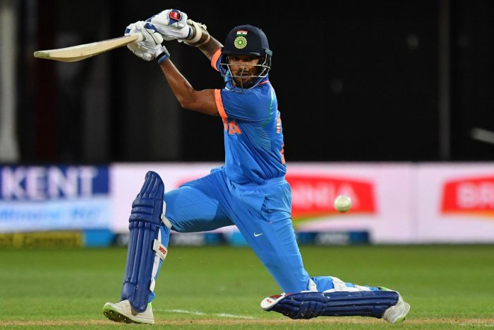 BACK IN GROOVE: Shikhar Dhawan's return to form was one of the positives for India in the first ODI against New Zealand. AFP