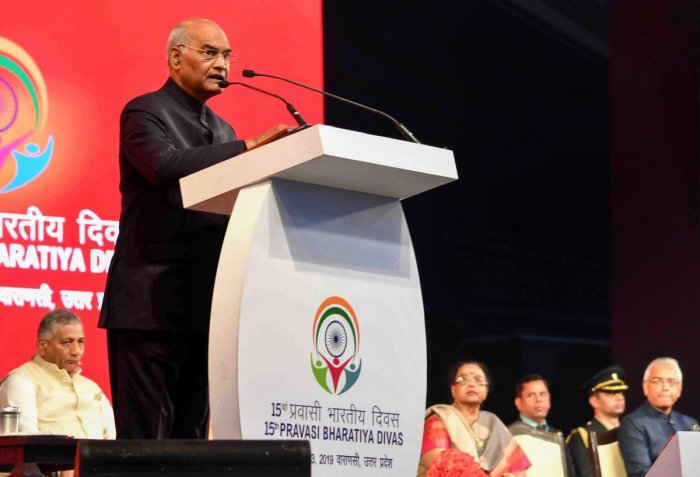 President Ram Nath Kovind was speaking at an event held by the EC to observe the National Voters' Day. PTI
