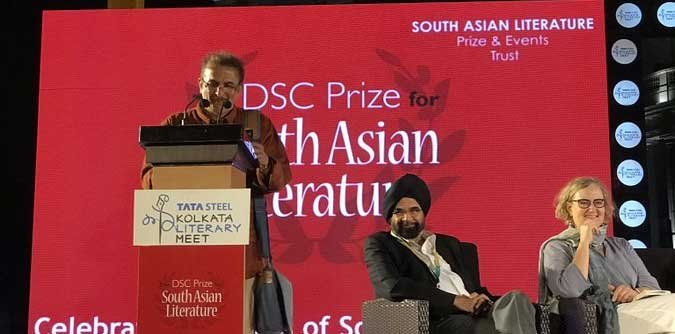 "Kannada author Jayant Kaikini was on Friday named the winner of the DSC Prize for South Asian Literature 2018 for his translated work ""No Presents Please"". Picture courtesy Twitter"