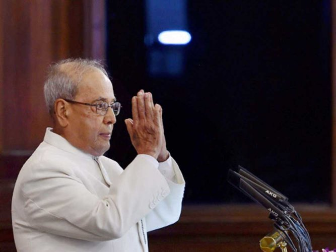 Pranab Mukherjee. PTI file photo