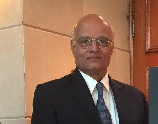 Former National Security Adviser Shivshankar Menon. (Image courtesy Twitter)