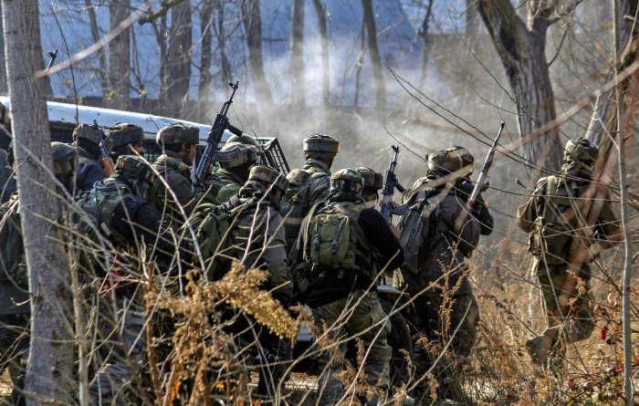 Security forces launched a cordon and search operation following information about presence of militants in the area, a police official said, as Republic Day events were being held in parts of the city. (PTI File Photo)