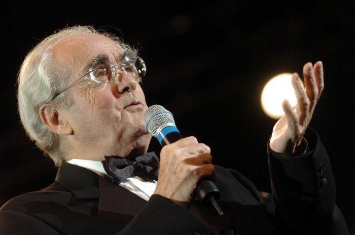 French music composer Michel Legrand. AFP file photo
