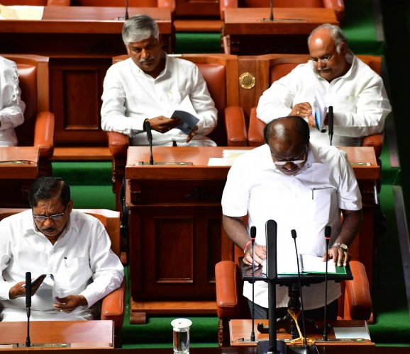 Chief Minister H D Kumaraswamy, who also holds the Finance portfolio, will present the budget proposals for 2019-2020 on February 8. Both Houses will conduct business till February 15, according to an official notification issued on Friday.