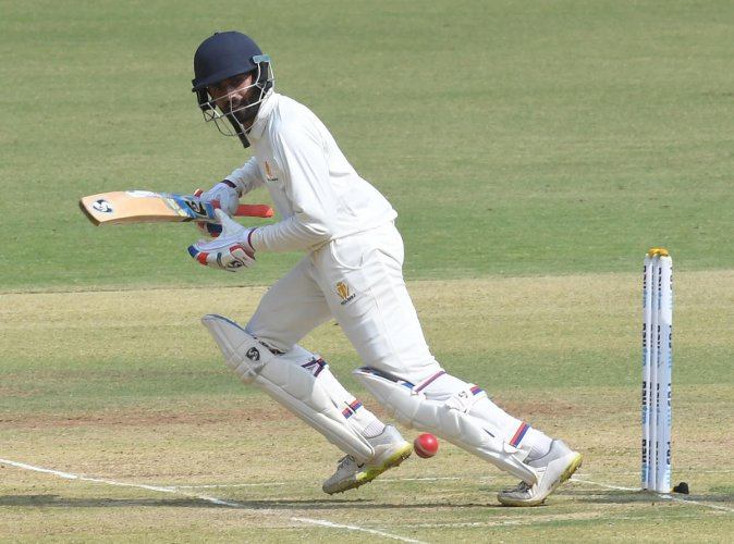 Shreyas Gopal's brilliant 61 not out has put Karnataka in a strong position against Saurashtra in the Ranji Trophy semifinal.