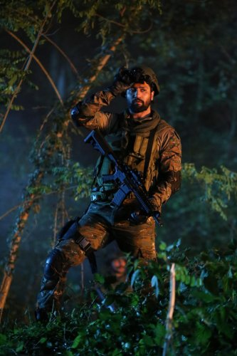 RIDING HIGH Vicky Kaushal got rave reviews for the movie 'URI: The Surgical Strikes'