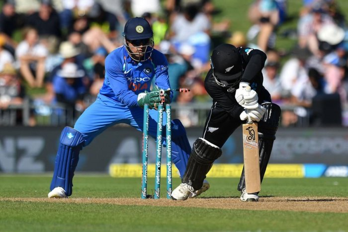Mahendra Singh Dhoni's quick work behind the stumps and measured batting have added new dimension to India's limited-over team. AFP