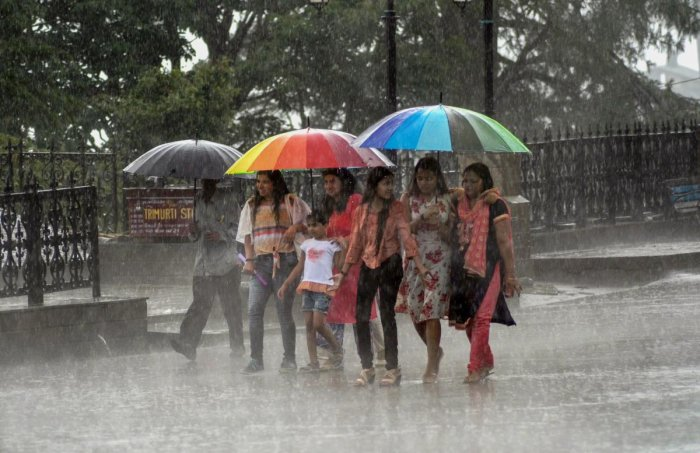 The state is likely to witness sporadic rain at several areas, bringing some respite from the scorching heat that was prevalent over the past few days. PTI file photo