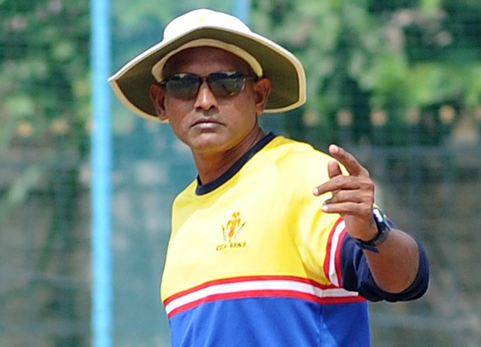 Karnataka Ranji Trophy coach Yere Goud.