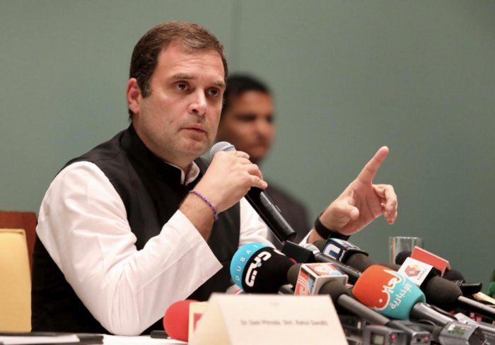 Gandhi's sharp attack came days after the Congress cited an audio tape in which Goa minister Vishwajit Rane was purportedly heard telling an unidentified person that Parrikar has Rafale files, due to which, he has managed to continue in the chair. (PTI Fi