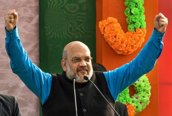 """The BJP president gave the sarcastic expansion to the acronym while addressing a """"BJP Panna Pramuk Sammelan"""" at Hamirpur, also known as """"Martyrs' Land"""" owing to the large population of the district and adjoining areas working in the Army. (PTI File Photo)"""