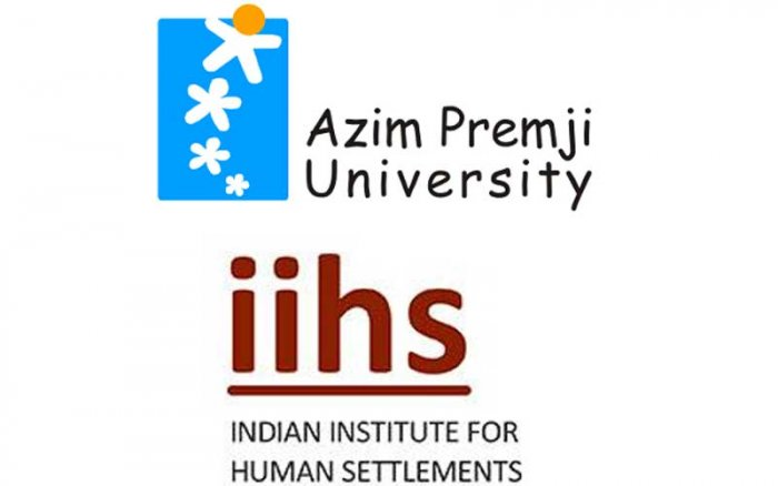 Bengaluru-based Indian Institute for Human Settlements (IIHS) and Azim Premji University are in the list.