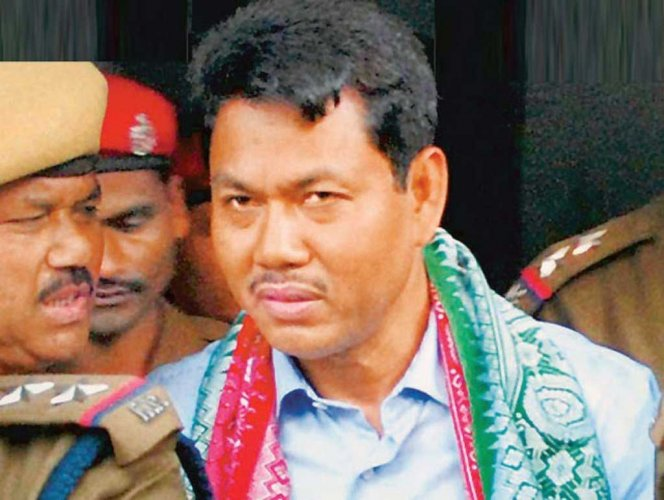 The National Democratic Front of Bodoland (NDFB), a militant group in ceasefire in Assam on Tuesday sought the release of its president Ranjan Daimary from jail, a day after he was convicted for serial bomb blasts in 2008. Picture courtesy Twitter