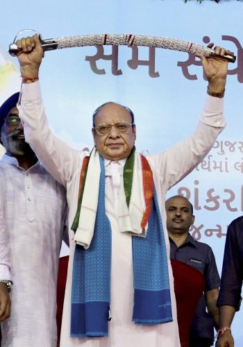 Shankarsinh Vaghela. PTI file photo