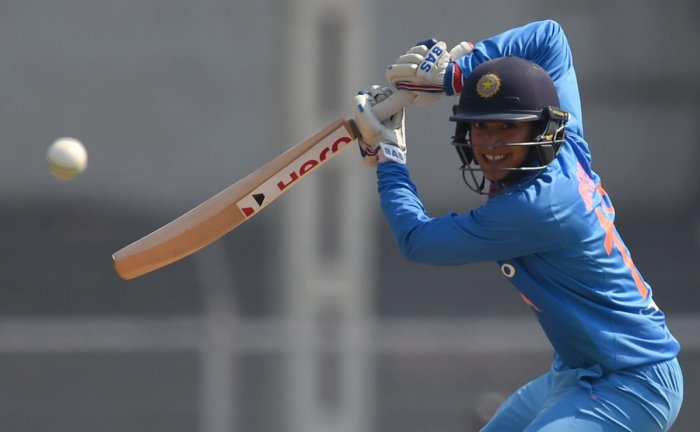 ELEGANT: The in-form Smriti Mandhana struck an unbeaten 90 in India's eight-wicket victory over New Zealand in the second ODI on Tuesdat at Mount Maunganui. AFP File Photo