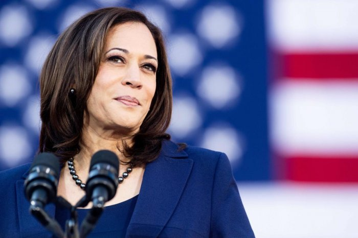 California Senator Kamala Harris speaks during a rally launching her presidential campaign in Oakland, California. AFP/File photo.