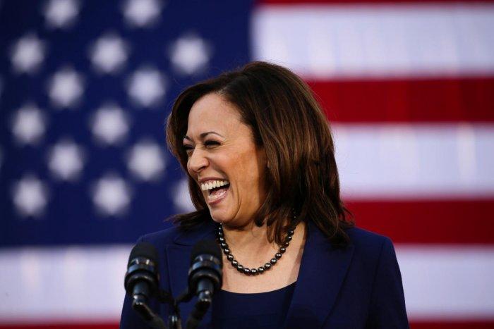 US Senator Kamala Harris. (Reuters File Photo)