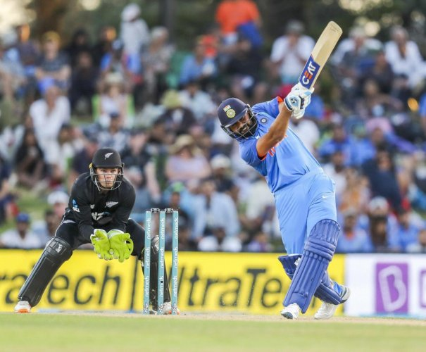 India's stand-in skipper Rohit Sharma will be playing gis 200th ODI when he takes the field against New Zealand in the fourth ODI on Thursday. AP-PTI
