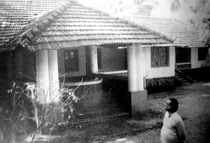 The house of former Union Defence Minister George Fernandes' maternal grandmother at Bejai in Mangaluru. The house has now been demolished.