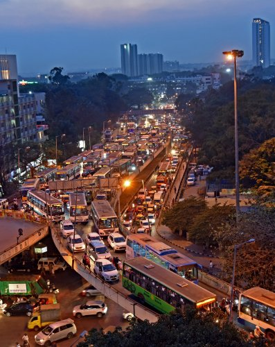 With indiscriminate honking, Bengaluru traffic adds to the hearing problem.