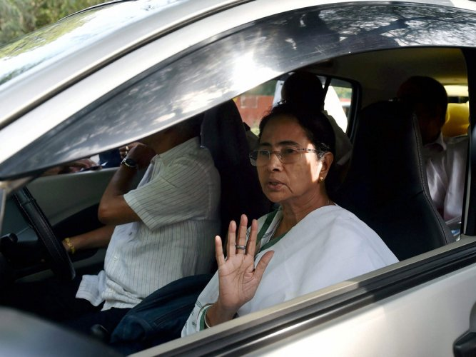 All the opposition parties said that if the forces are deployed under thesupervision of the state police, it would be futile as police workunder the control of ruling Trinamool Congress (TMC). (Above: Mamata Banerjee. PTI file photo)