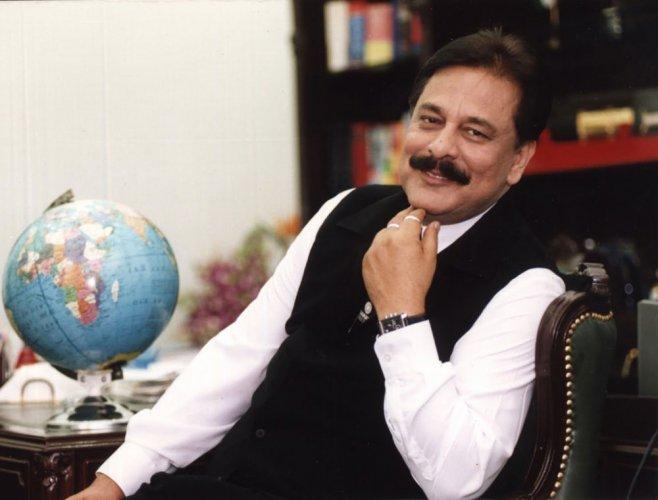Sahara group chief Subrata Roy. PTI file photo.