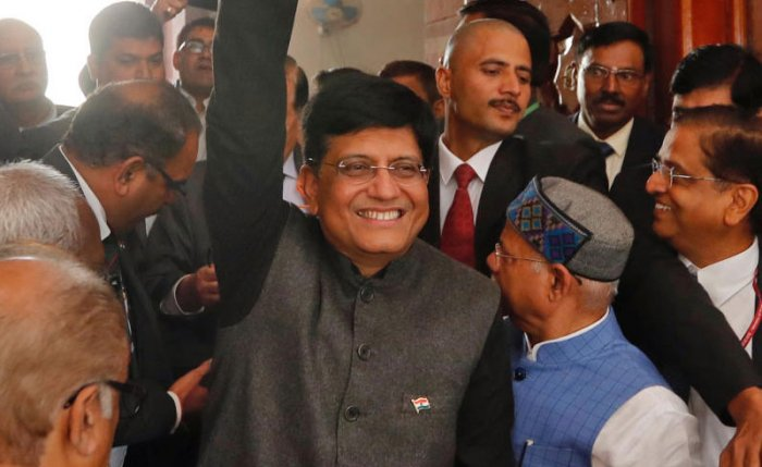 Minister-in-charge of Finance Piyush Goyal. PTI Photo