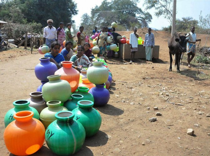 Data shows that the Centre has cut funds for Karnataka under the National Rural Drinking Water Project (NRDWP) by 64%.