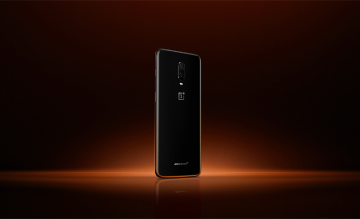 The OnePlus 6T McLaren Edition was launched in Mumbai on Wednesday. Picture: OnePlus