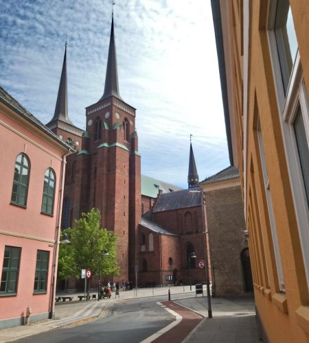 GOTHIC HERITAGE Roskilde Cathedral. PHOTOS BY AUTHOR