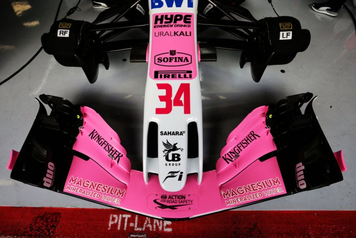 Front wing. Picture credit: Force India/ Racing Point F1