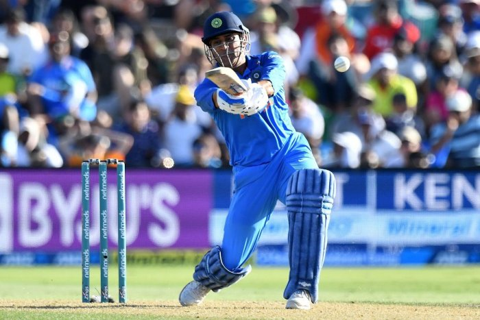 M S Dhoni was back in the team in place of Dinesh Karthik. AFP file photo.