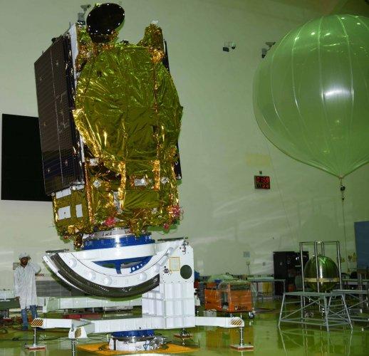 GSAT-31. Photo: Twitter/NASA