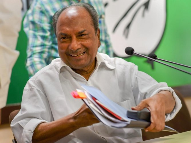 Image result for a.k. antony