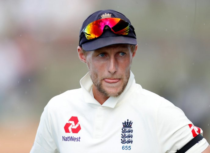 DEJECTED: England captain Joe Root feels poor batting has let the team down in the ongoing Test series against the West Indies. Reuters