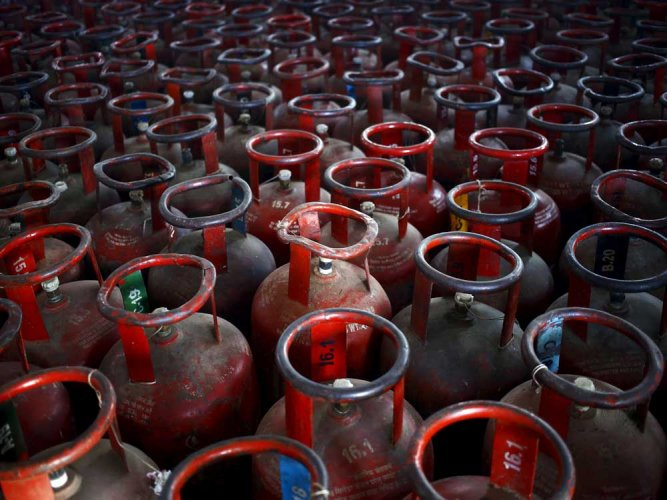 """""""Rapid increase in population combined with LPG penetration in rural areas has resulted in an average growth of 8.4 per cent in LPG consumption, making India the second largest consumer of LPG in the world at 22.5 million tonnes. PTI file photo."""