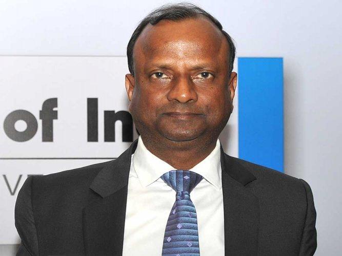 State Bank of India (SBI) Chairman Rajnish Kumar. DH file photo.