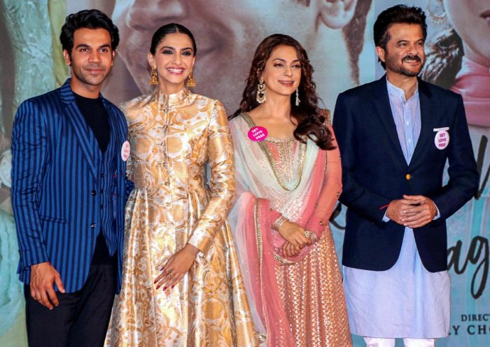 """Chawla's latest release is """"Ek Ladki Ko Dekha Toh Aisa Laga"""", which reunites her with frequent collaborator, Anil Kapoor. Also featuring Sonam Kapoor and Rajkummar Rao, the film released on February 1. (PTI Photo)"""